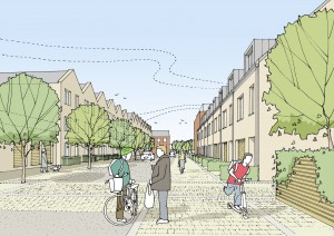 Plans submitted for long-hoped-for redevelopment of former town centre industrial site