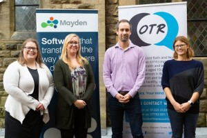 Mayden's help for charity supporting Bath's young people recognised in room name